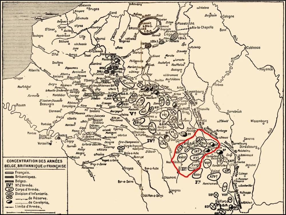 L'organisation militaire de 1914 (1/4)