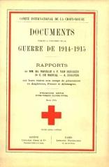 19150116 - Rapport CICR sur Grafenwohr 0